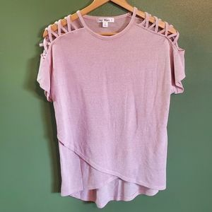 Say What? Pink top